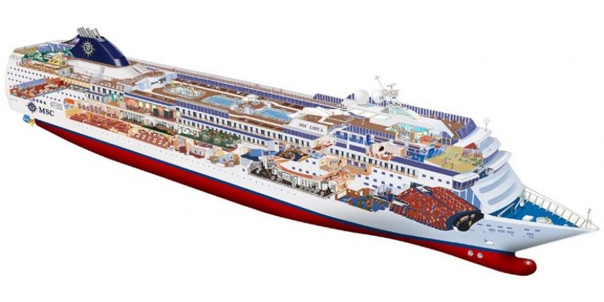 MSC introducirá un nuevo buque en los Emiratos Árabes