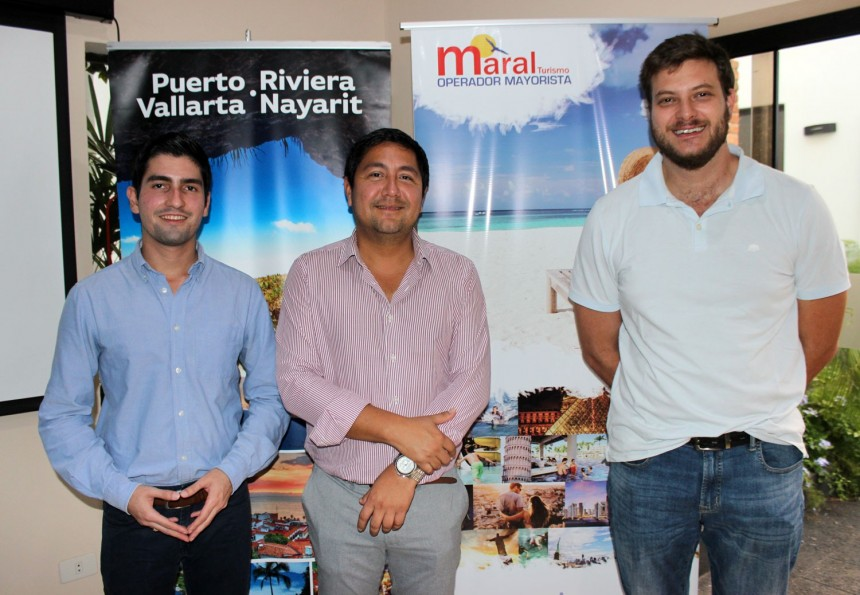 Luís Villaseñor, Francisco Cerro y Jose Carlos Brunetti