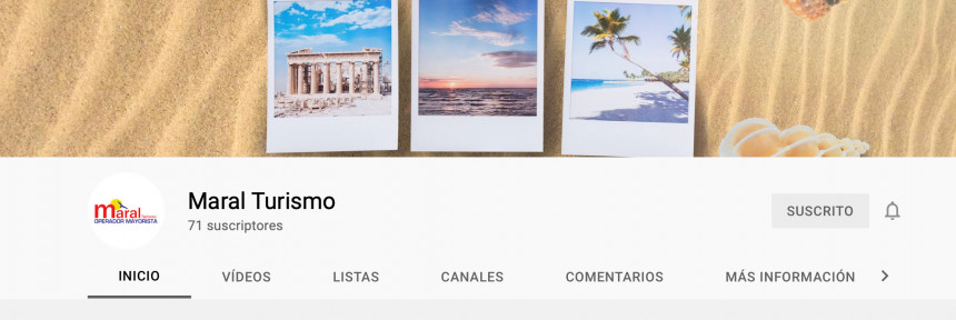 Maral Turismo lanza su canal de Youtube