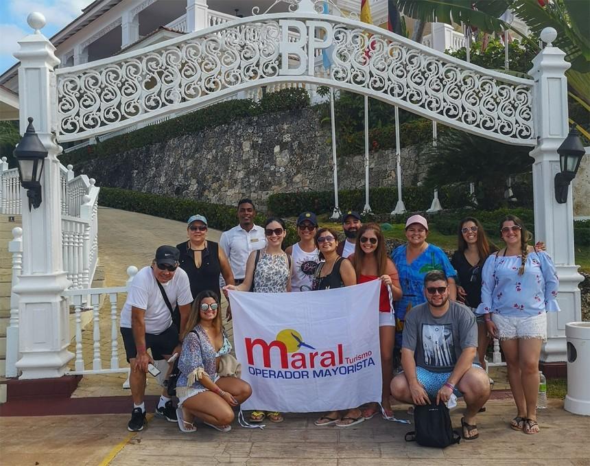Maral muestra atractivos de Samaná a agentes de viajes locales