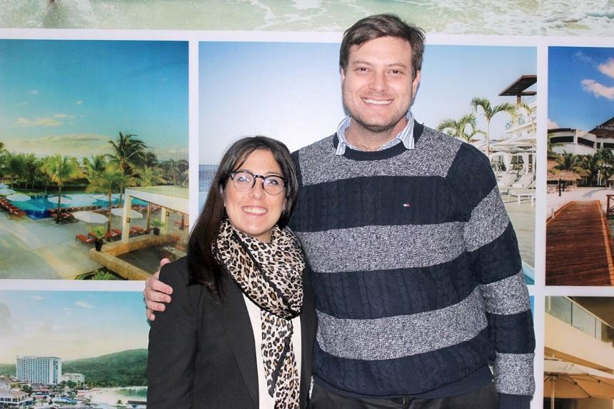 Paula Dios y Jose Carlos Brunetti