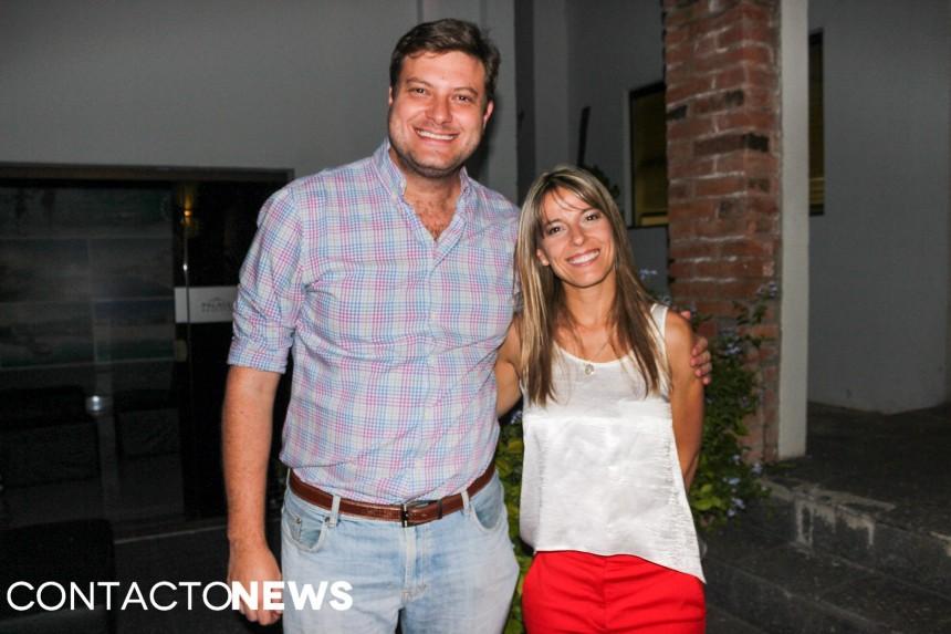 Jose Carlos Brunetti y Florencia García
