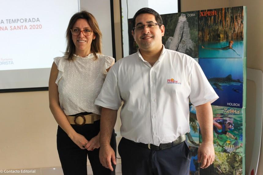 Gisela Passarelli y Cesar Espinola