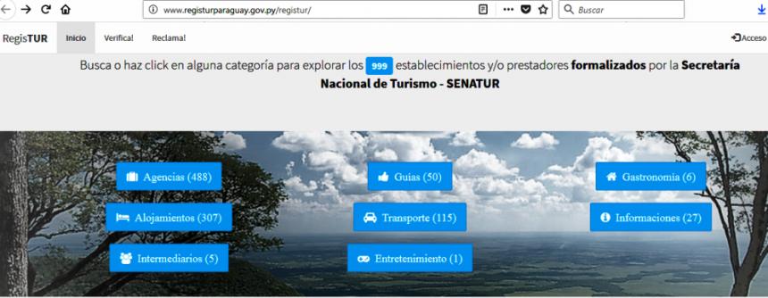 Registur 2.0, nueva plataforma digital del Registro Nacional de Turismo