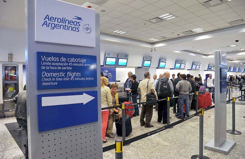 Aerolíneas Argentinas transportó un 17% más de pasajeros