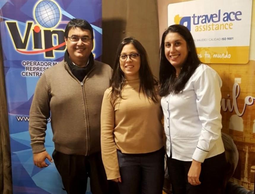 Jorge Romero, Paula Dios y Severiana Gutierrez