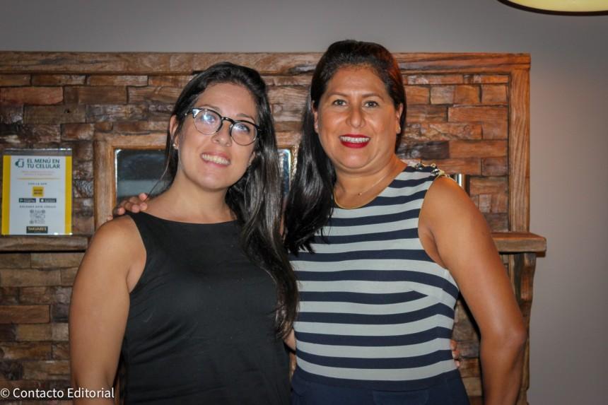 Paula Dios y Cristina Manfrino