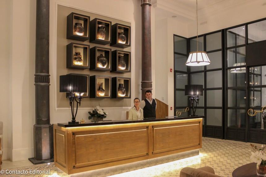 Recepción de Palmaroga Hotel