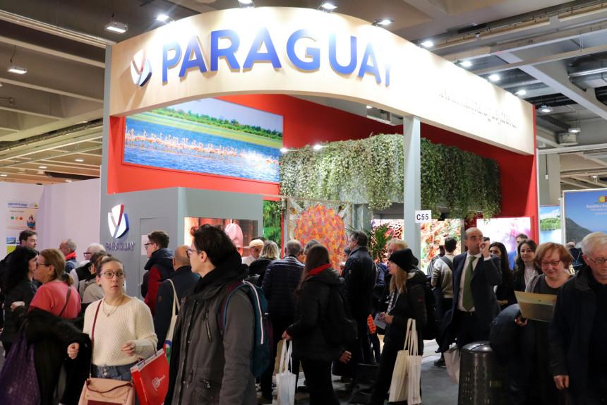 Stand  de Paraguay en BIT Milano