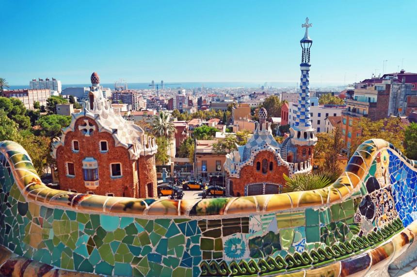 Parque Guell en Barcelona