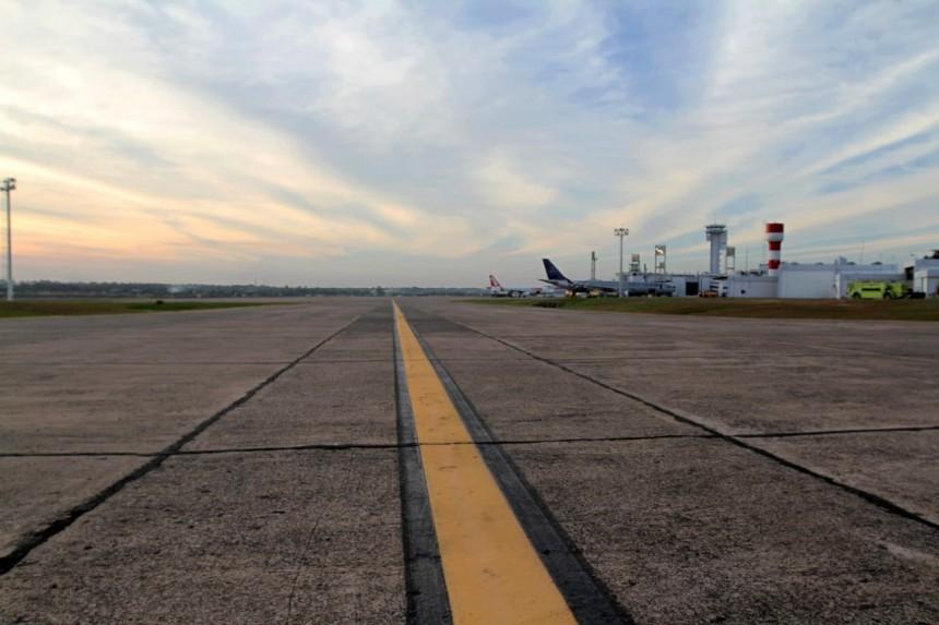 Operativa del Silvio Pettirossi sufre modificaciones por trabajos en la pista principal