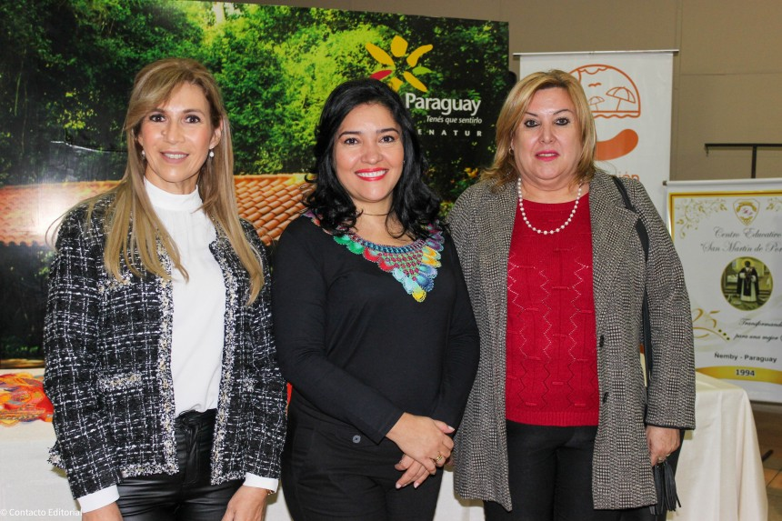 Monica Benitez, Sofia Montiel y Alda Carreras