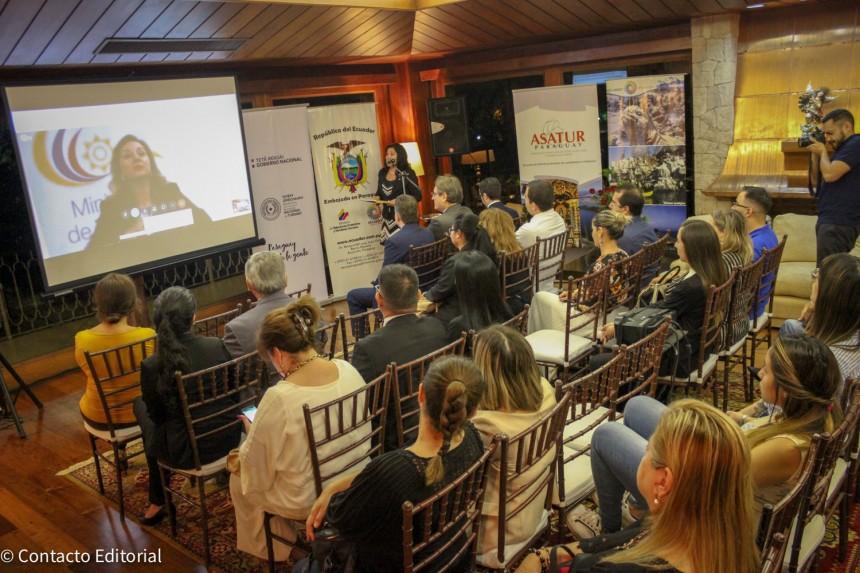 Ecuador promocionó sus atractivos turísticos en Asunción