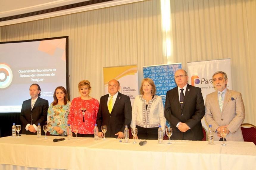 Presentan Observatorio Económico del Turismo de Reuniones en Paraguay