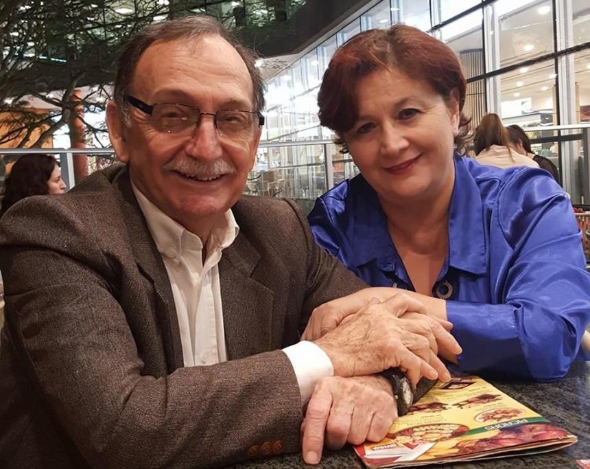 Reinaldo Viveros y su esposa Gloria Rolon