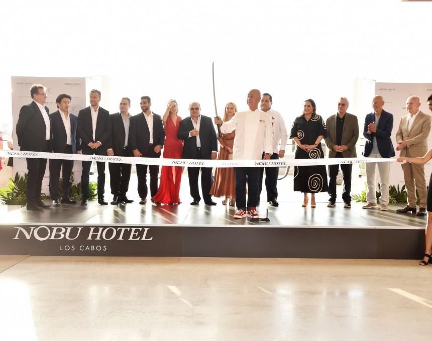 Robert de Niro inauguró el Nobu Hotel Los Cabos