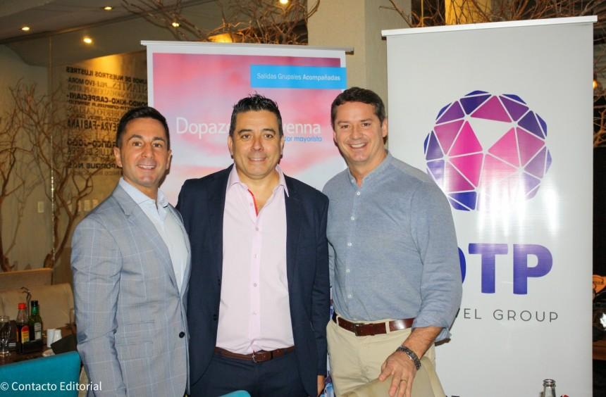 Rodrigo Pérez Freiria, Jorge Ravenna y Daviad Prono