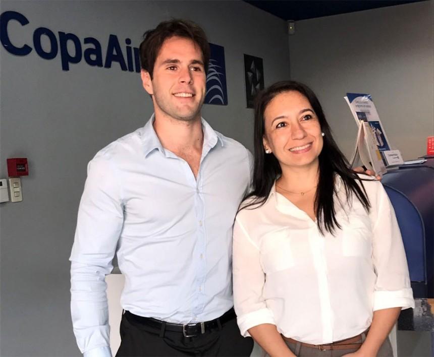 Germán Poletti y Rosa González
