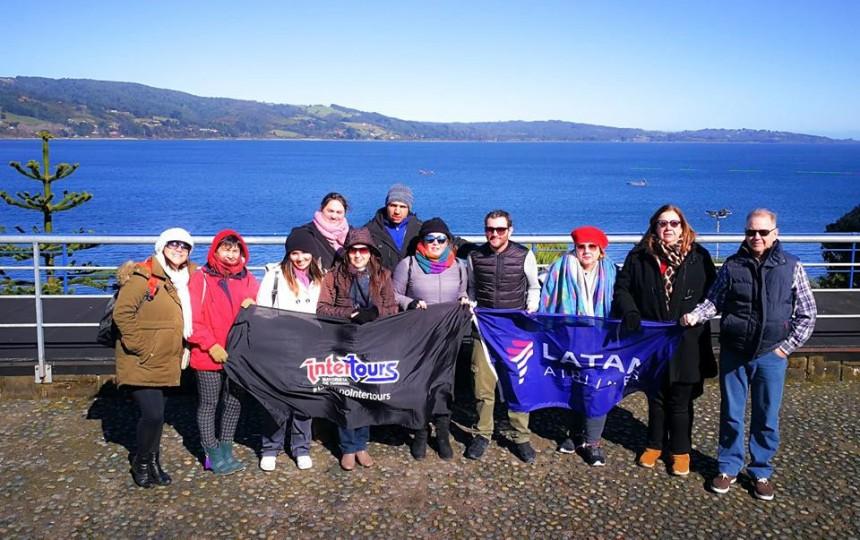 Agentes de viajes visitaron atractivos turísticos en Chile