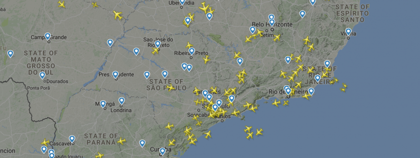 Imagen Flight Radar 24