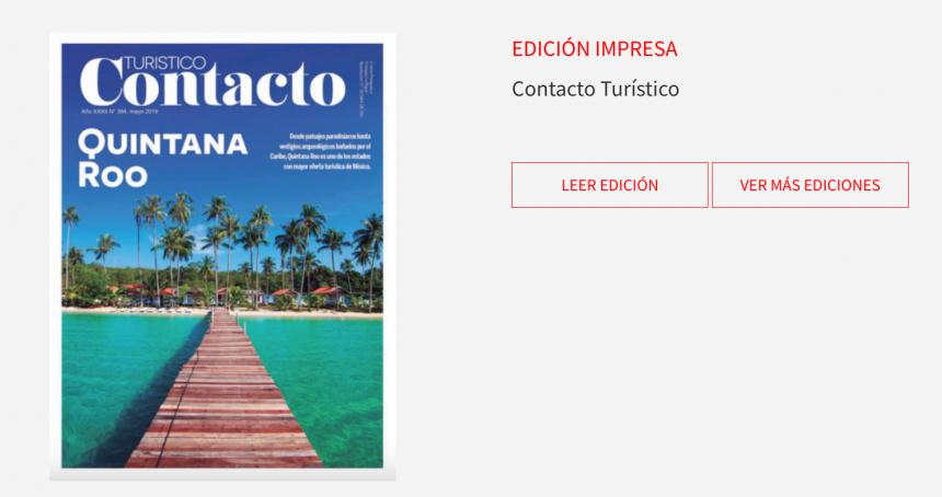 Paisajes paradisíacos e innovaciones tecnológicas en nueva edición de Contacto Turístico