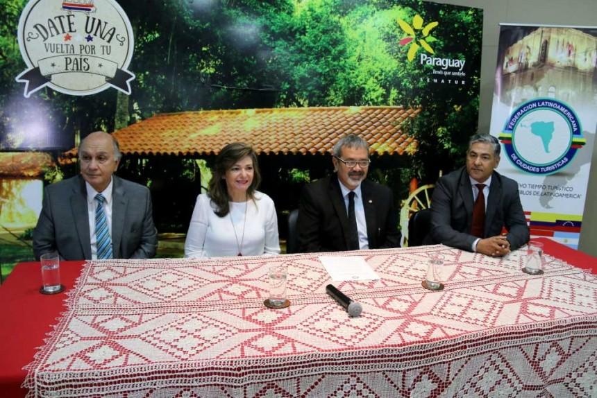Paraguay presidirá la Federación Latinoamericana de Ciudades Turísticas