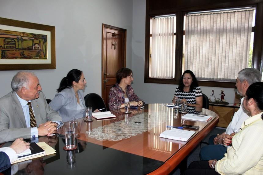 Durante la reunión realizada