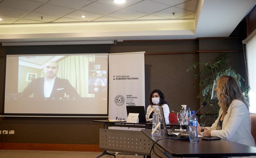 Senatur y AIHPY presentan alianza internacional