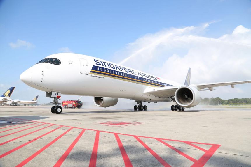 A350 de Singapore Airlines