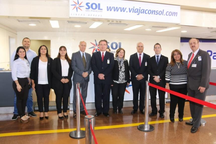 Sol del Paraguay inauguró conexión entre Asunción y Ciudad del Este