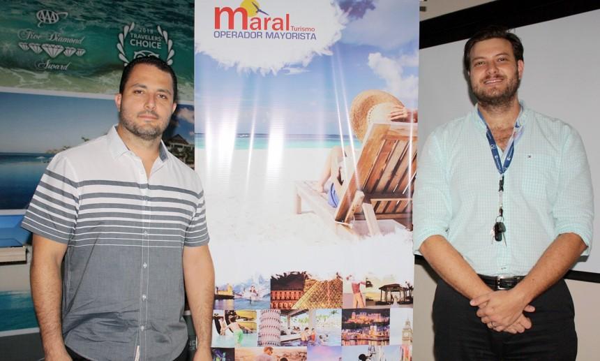 Juan Pablo Estrada y Jose Carlos Brunetti