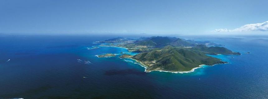 Vista aerea de St Maarten