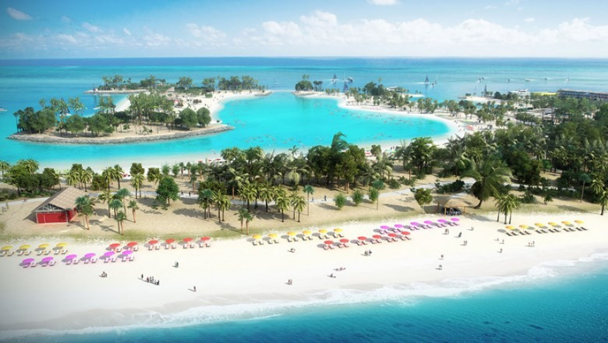 MSC Cruceros estrenó su nueva isla privada en Bahamas