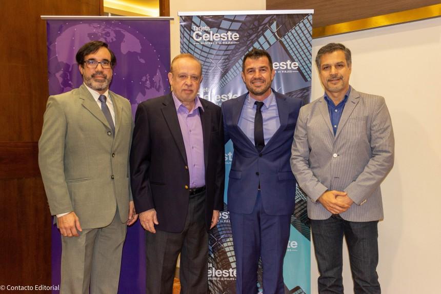 Alejandro Ocampos, Miguel Martin, Gustavo Garófalo y Nelson Ferreira