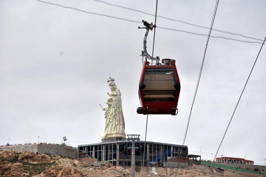 Bolivia inaugura teleférico en la ciudad de Oruro