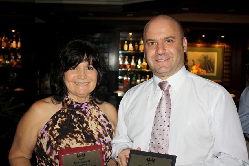 Teresa Soljancic y Alejandro Waysburt