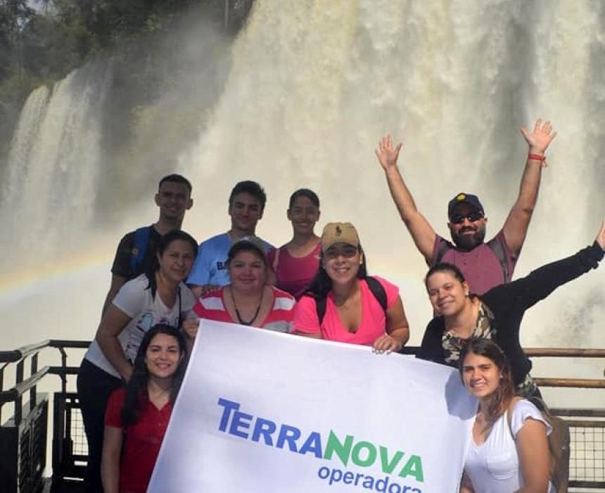Grupo de Agentes de viajes invitados