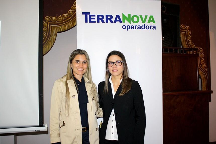 Liliana Alvarenga y Vanessa Rios