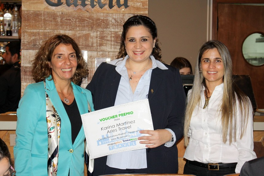 Veronica Fois, Karina Martinez y Liliana Alvarenga