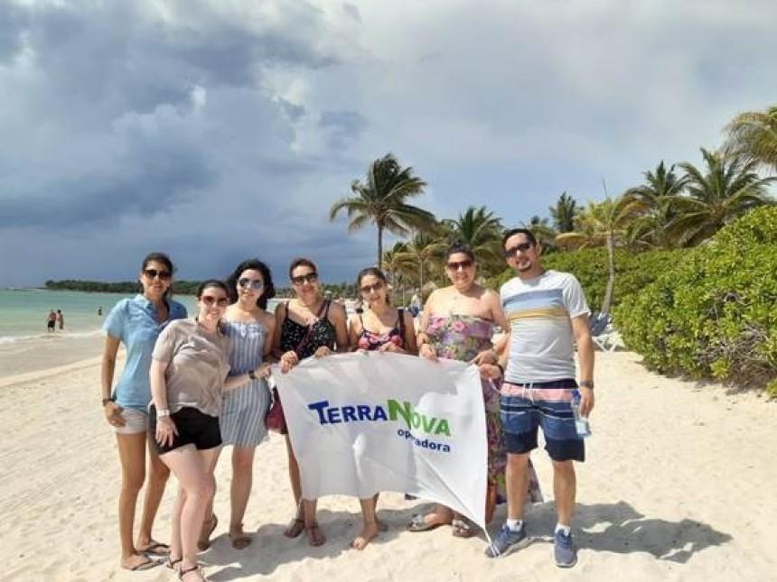 Agentes de viajes en el Gran Palladium Riviera Maya