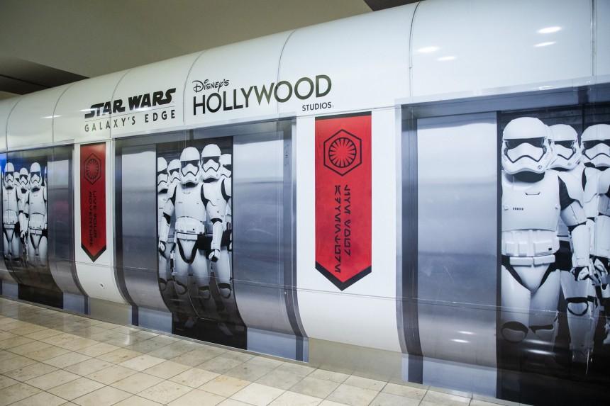 La fiebre de Star Wars se traslada al Aeropuerto Internacional de Orlando