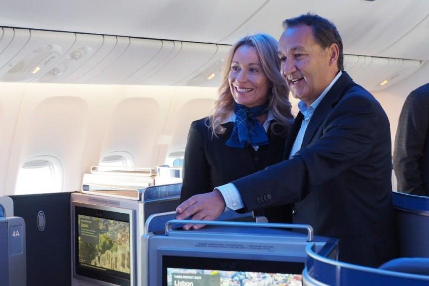 Oscar Muñoz CEO de United Airlines
