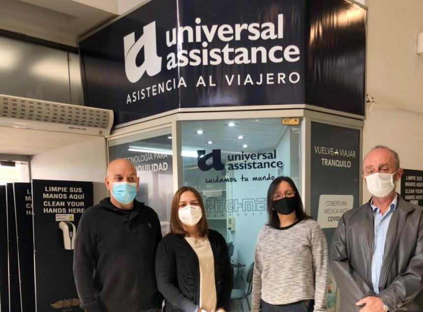 Universal Assistance abre oficinas en el Silvio Pettirossi