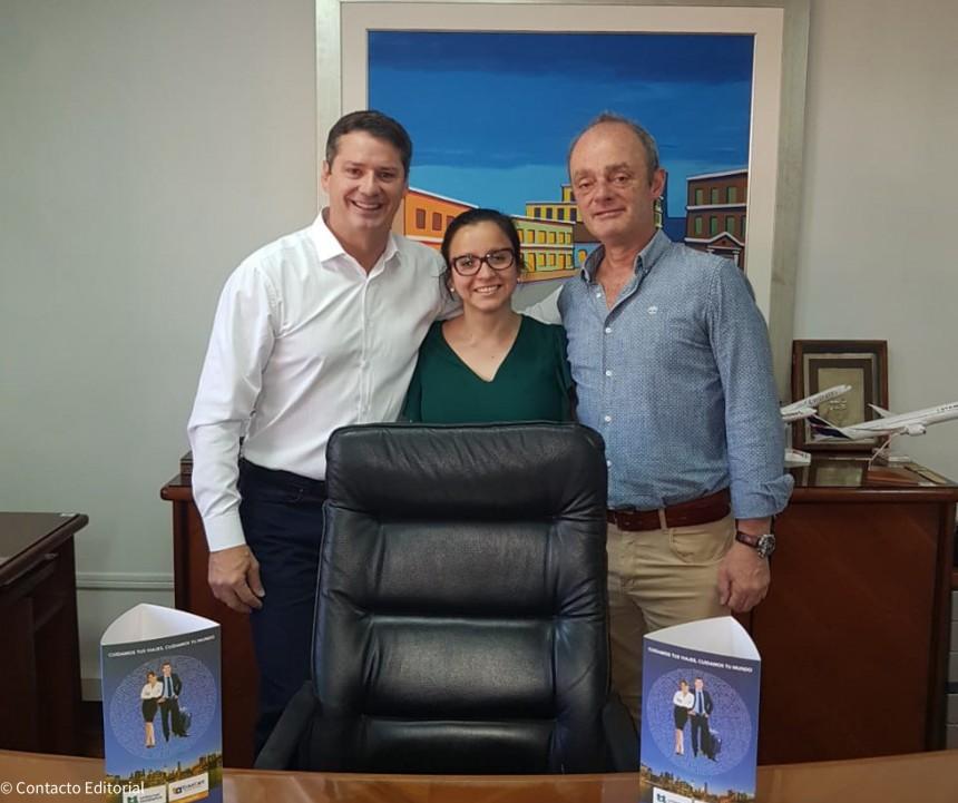David Prono, Claudia Cano y Guillermo Pontoriero