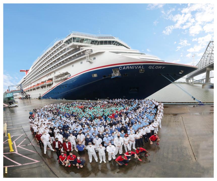 La mitad de la flota de Carnival Cruise Line en Estados Unidos ya se encuentra operativa