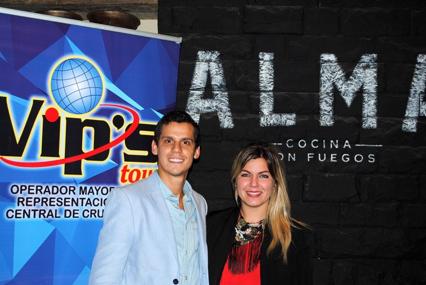 Carlos Pavon y Lidia Gimenez