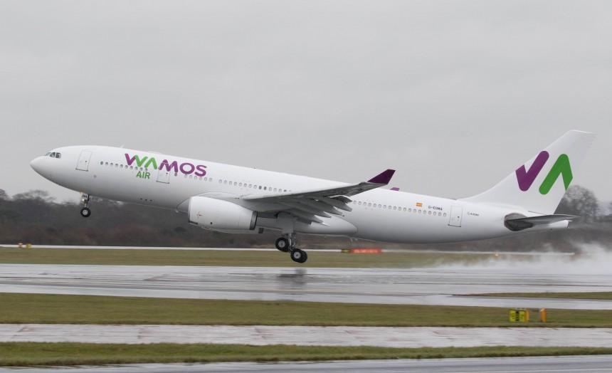 Wamos incorpora a su flota dos Airbus A330