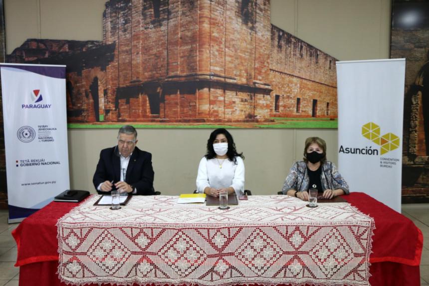 Senatur y el Asunción Convention acuerdan acciones para fortalecer el Turismo de Reuniones