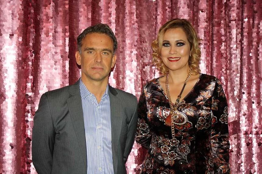 Pablo Damato y Mariana Pedrozo