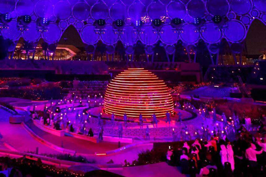 Expo 2020 Dubái una inauguración con fuegos artificiales, música y mensajes para un futuro más sostenible